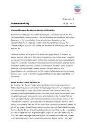 Mainz 05: neue FanKarte ist ein Volltreffer - GeldKarte