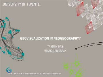Geovisualization in neogeography? - Geomatik-hamburg.de