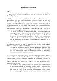 Joh 11,1-45 - Geistige Schriftauslegung