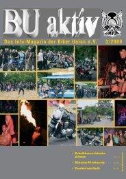 Das Info-Magazin der Biker Union eV 3/2009