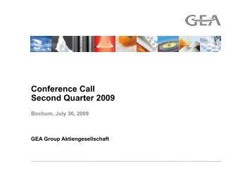 Presentation (PDF, 5 MB) - GEA Group