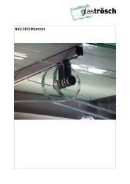 BAU 2003 München - Glas Trösch Beratungs-GmbH