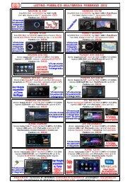 Listino GMA Multimedia Pubblico Feb 2012 - GMA Italia Srl