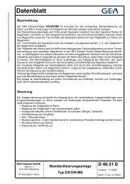 Datenblatt - GEA Diessel GmbH