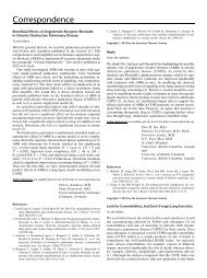 Correspondence - American Journal of Respiratory and Critical ...