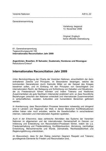 Deutsche Übersetzung - Global Balance