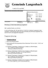 Ladung 04.04 - Langenbach