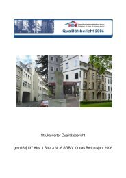 Strukturierter Qualitätsbericht gemäß §137 Abs. 1 Satz 3 Nr. 6 SGB ...