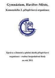 zpr-hosp-2011 - Gymnázium, Havířov