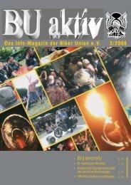 Das Info-Magazin der Biker Union eV 3/2008