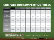 COMPARE OUR COMPETITIVE PRICES