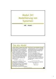 Modul 241 Modellierung von Systemen - Friedrich-Schiller ...