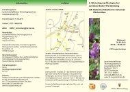 6.Wintertagung Ökologischer Landbau in Baden ... - bei der GKB eV