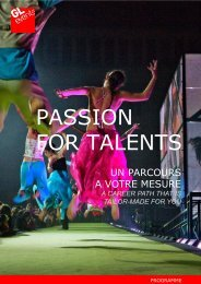 GL-EVENTS_PASSION-FOR-TALENTS_PROGRAMME juin 2011 ...