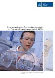 DFG - Gleichstellungsbüro der Leibniz Universität Hannover