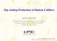 Top-Antitop Production at Hadron Colliders