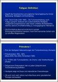 Fatigue-Syndrom und Behandlungsmöglichkeiten - Seite 2