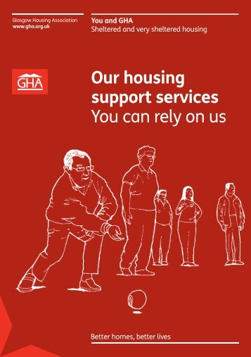 Housing Support Services brochure - Glasgow Housing Association