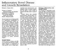 Richard J. Grand, M.D. Etiology of Malnutrition and ... - GGH Journal