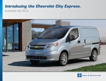 2015 Chevrolet City Express Specs (pdf) - GM Fleet
