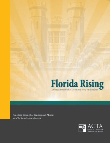 Florida Rising - The American Council of Trustees and Alumni