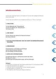 Dienstcharta des Steueramtes - Stadtgemeinde Bozen