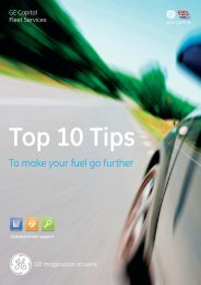 Top 10 Tips - GE Capital UK