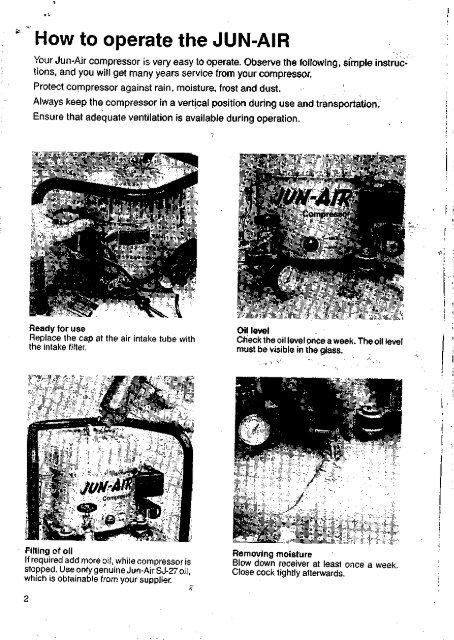 Jun Air compressor manual ENG.pdf - Gemini BVYumpu