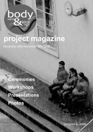 project magazine - GIBS