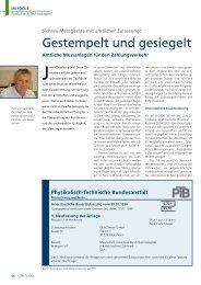 Gestempelt und gesiegelt - GEA Diessel GmbH