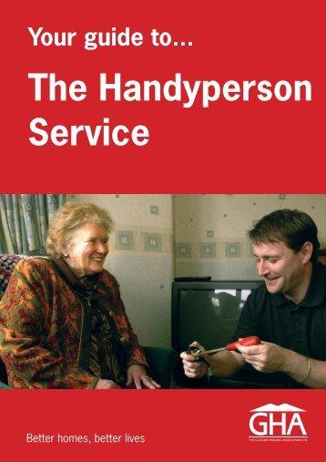 The Handyperson Service - Glasgow Housing Association