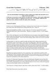 Monthly Newsletter - February 2011 - Goha.us