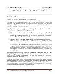Monthly Newsletter - November 2011 - Goha.us