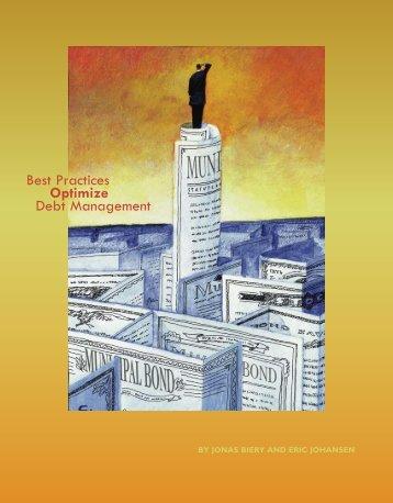 Best Practices Optimize Debt Management - Government Finance ...