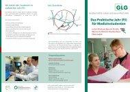 Das Praktische Jahr (PJ) für Medizinstudenten - GLG Gesellschaft ...