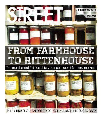 8 7 october 25 farmers' markets cliche ... - 34th Street Magazine