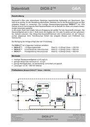 Datenblatt DIOX-2™ - GEA Diessel GmbH
