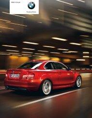 BMW 1er Coupé Freude am Fahren