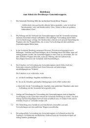 Richtlinien zum Schutze des Dornburger Gemeindewappens vom ...