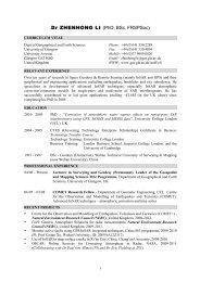 Dr ZHENHONG LI (PhD, BSc, FRSPSoc)