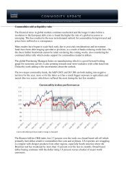 Commodities sold as liquidity rules The financial ... - GoldSeiten.de