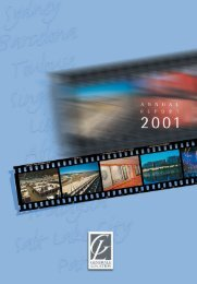 Annual report 2001 - GL events