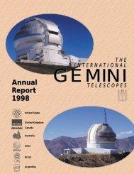1998 - Gemini Observatory