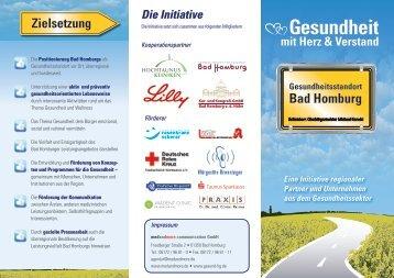 Flyer - Gesundheitsstandort Bad Homburg