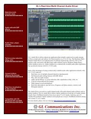 Download Realtime Multi-Channel Audio Driver Product Brochure