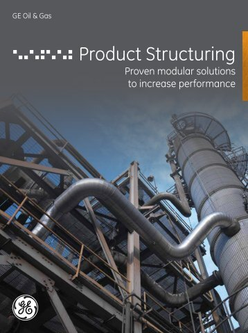Product Structuring / PDF 1147kb - GE Energy