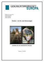 Potulice - Geschichtswerkstatt Europa
