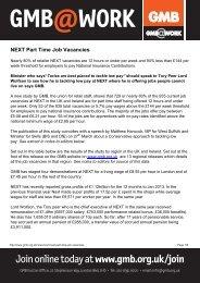 NEXT Part Time Job Vacanciesx - GMB
