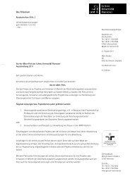Ausschreibung 2011 (pdf) - Gleichstellungsbüro der Leibniz ...