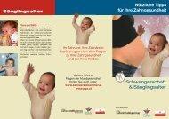 Schwangerschaft & Säuglingsalter - Netzwerk Gesunde Gemeinde